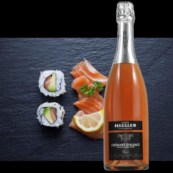 Crémant Brut Rosé<br/>10,40 € la bouteille