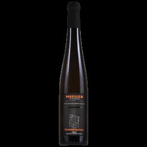 Gewurztraminer sélection de grains nobles Alsace Maison Hauller gamme Vins d'Exception