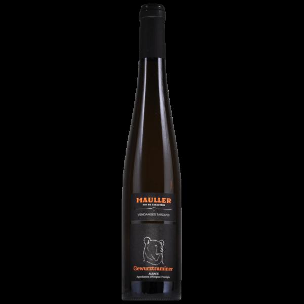 Gewurztraminer Vendanges Tardives Alsace Maison Hauller gamme Vins d'Exception