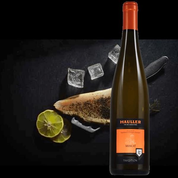Muscat<br/>8,50 € la bouteille