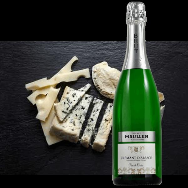 Crémant Pinot gris<br/>9,90 € la bouteille