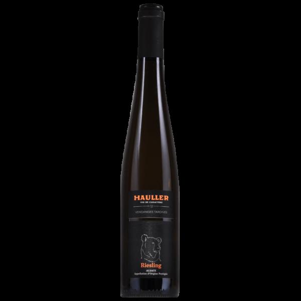 Riesling Vendanges Tardives Alsace Maison Hauller gamme Vins d'Exception